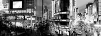 Buildings lit up at night, Shinjuku Ward, Tokyo, Japan Fine-Art Print