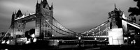 Tower Bridge, London, United Kingdom (black & white) Fine-Art Print