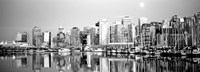 Vancouver, British Columbia, Canada (black & white) Fine-Art Print