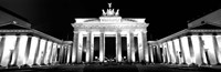 Brandenburg Gate at night, Berlin, Germany Fine-Art Print