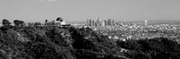 Griffith Park Observatory, Los Angeles, California BW Fine-Art Print
