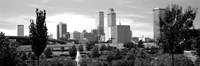 Downtown skyline from Centennial Park, Tulsa, Oklahoma Fine-Art Print