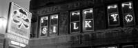 Pub lit up at night, Silky O'Sullivan's, Beale Street, Memphis, Tennessee Fine-Art Print