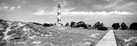 Cape Lookout Lighthouse, Outer Banks, North Carolina Fine-Art Print