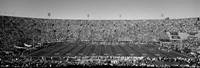 Football stadium full of spectators, Los Angeles Memorial Coliseum, California Fine-Art Print