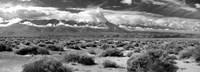 Death Valley landscape, Panamint Range, Death Valley National Park, Inyo County, California Fine-Art Print