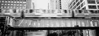 The EL Elevated Train Chicago IL Fine-Art Print
