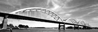 Low angle view of a bridge, Centennial Bridge, Davenport, Iowa Fine-Art Print