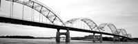 Iowa, Davenport, Centennial Bridge over Mississippi River Fine-Art Print