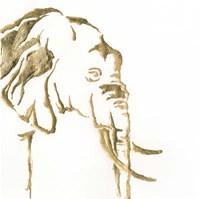 Gilded Elephant Fine-Art Print