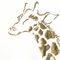 Gilded Giraffe Fine-Art Print