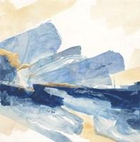Gilded Indigo II Fine-Art Print