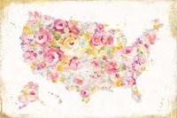 Midsummer USA Framed Print