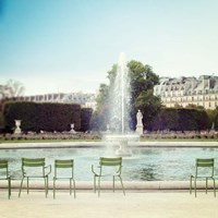 Paris Moments V Framed Print