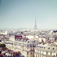 Paris Moments VI Framed Print