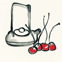 Tea and Cherries Fine-Art Print