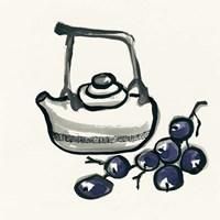 Tea and Grapes Fine-Art Print