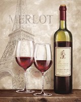 Wine in Paris III Fine-Art Print