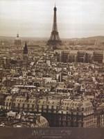 Paris Below Fine-Art Print