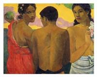 Three Tahitians Fine-Art Print