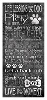 Life Lessons from a Dog Fine-Art Print