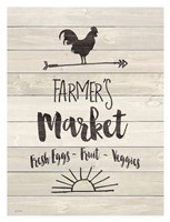 Farmer's Market - Sign Fine-Art Print