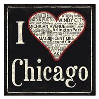 I Heart Chicago Fine-Art Print
