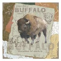Buffalo Roam Fine-Art Print