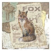 Fox Trot Fine-Art Print