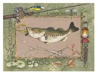 Large Mouth Bass Fine-Art Print