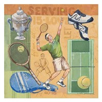 Let's Play Tennis Fine-Art Print
