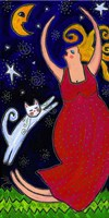 Big Diva Moonlight Goddess Dancing Fine-Art Print