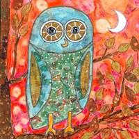 Funky Little Owl Fine-Art Print