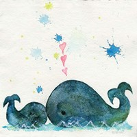 Love You Whales Fine-Art Print