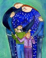 Three Boys & A Girl Family Big Diva Fine-Art Print