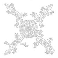 4 Celtic Lizards Fine-Art Print