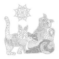 Calico Cats Fine-Art Print