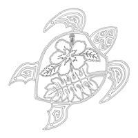 Hawaiian Turtle Fine-Art Print