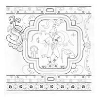 Mayan Cosmic Turtle Fine-Art Print