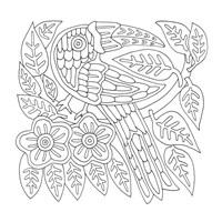 Mola Bird Easy Fine-Art Print