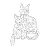 Night Day Cats Fine-Art Print