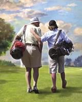 Golfing Buddies Fine-Art Print