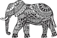 Elephant Side Fine-Art Print