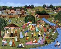 Fourth of July ( River ) Fine-Art Print