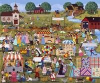 Annual Church Bazaar Fine-Art Print