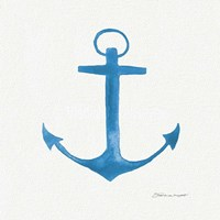 Anchor In Blue Fine-Art Print