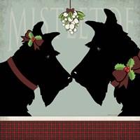 Scottie Mistletoe Fine-Art Print