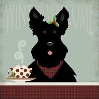 Scottie Winter Welcome Fine-Art Print