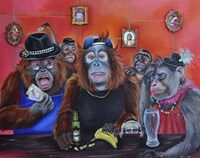 Monkey Business Fine-Art Print