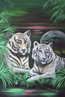 Fantasy Tigers Fine-Art Print